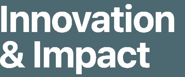 Innovation & Impact