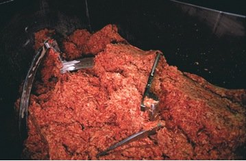 <p><strong>Figure 3:</strong>&nbsp;USDA image of mechanically separated beef.</p>