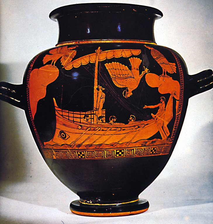 "<p>Figure 1. Unlike the sailor songs, the sirens' song Odysseus recounts quite literally does work of destruction, not production.</p><p>Source: <a href=""https://www.flickr.com/photos/aaron_wolpert/7445455452/in/photolist-ckVUvA-s96TWj-JEfos-7v1J3v"" class=""hoverZoomLink"">https://www.flickr.com/photos/aaron_wolpert/7445455452/in/photolist-ckVUvA-s96TWj-JEfos-7v1J3v</a> <br>Credit: Aaron Wolpert, Flickr</p>"
