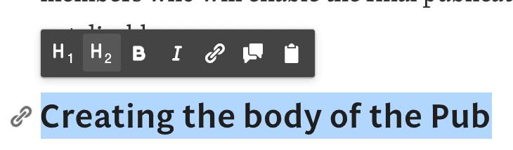 <p><em>Opciones en la barra de edición.</em></p>