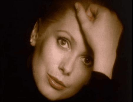 "<p><em>Figure 1. Catherine Deneuve's disembodied face and hand in Chanel No. 5's ""Whispered""; screenshot taken from Chanel. ""Whispered – Chanel No. 5."" YouTube video, 0:31.&nbsp;<br>September 26, 2012. Accessed April 19, 2020. <a href=""https://www.youtube.com/watch?v=TGVNGoMXE2c"">https://www.youtube.com/watch?v=TGVNGoMXE2c</a>.</em></p>"