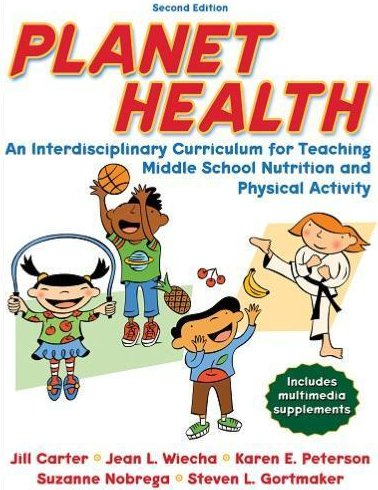 "<p>The cover of ""Planet Health"" which reveals the book to be meant for children.</p>"