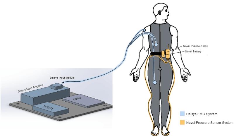 <p>Figure 7. Diagram of sensor system set-up</p>