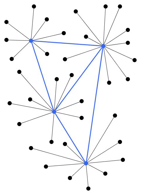 "<p class="""">Essence of a network graph visualization</p>"