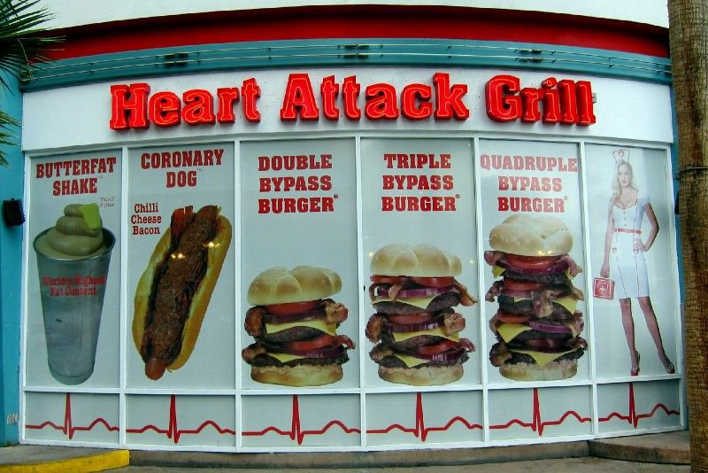 <p>Figure 27: Heart Attack Grill</p>