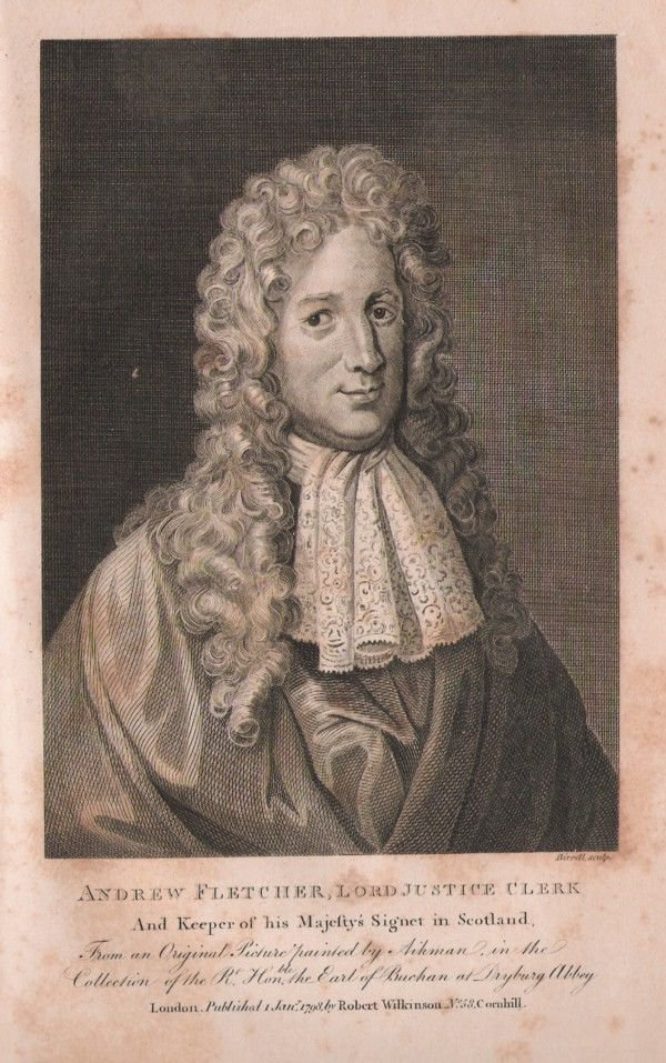 <p>Figure 28: Andrew Fletcher of Saltoun (1655 – September 1716)</p>