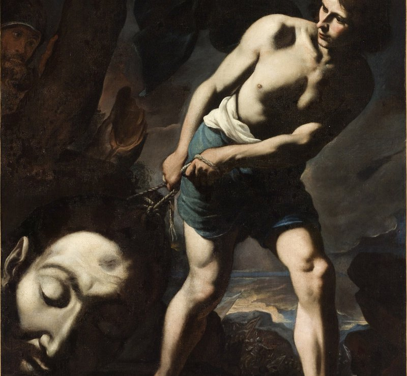 "<p><em>David with the Head of Goliath</em>, circa 1635, by <a href=""https://en.wikipedia.org/wiki/Andrea_Vaccaro"" title="""">Andrea Vaccaro</a> <br><br><br><br></p>"