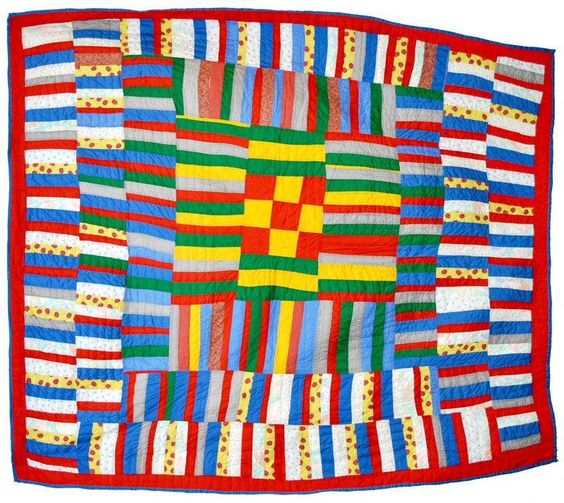 <p>A Quilt from Gee's Bend, (1979). Quilt by Lucy Mingo, under Creative Commons.</p>
