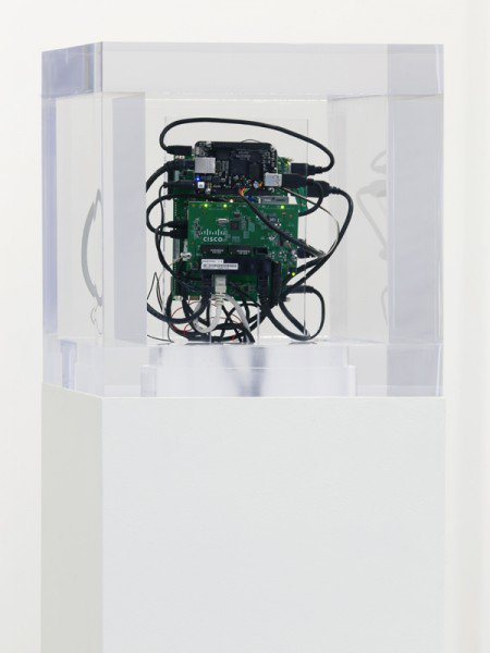 """<p><strong>Trevor Paglen </strong>1974</p><p class=""""MsoNormal""""><strong>Autonomy Cube </strong>2014</p><p><br>Courtesy of the artist and Altman Siegel, San Francisco</p>"""