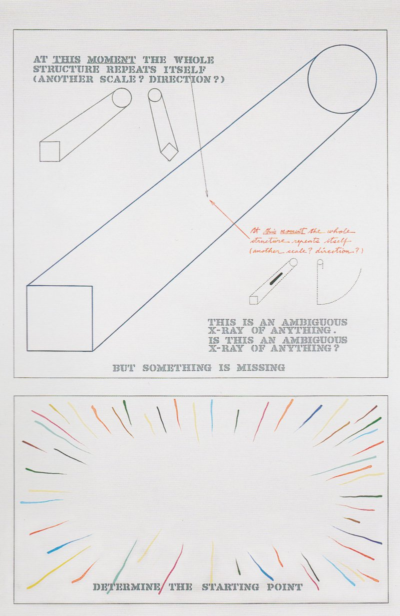 Figure 2. Arakawa and Gins, The Mechanism of Meaning: 3.4 Presentation of Ambiguous Zones, 1963-1973. Photograph by Sally Ritts. © Estate of Madeline Gins. Used with permission.