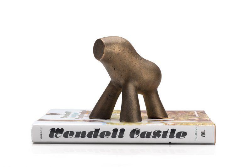 <p>Wendell Castle's Bookend</p>