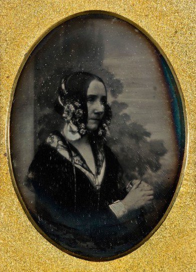 "<p>Ada Lovelace, English poet and mathematician, in a daguerrotype from 1843 or 1850. Lovelace is considered the first to express the potential of the ""computing machine"" and the world's first computer programmer.</p>"