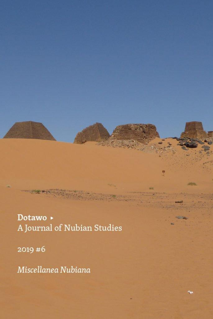 "<p class=""""><strong><a href=""https://punctumbooks.com/titles/dotawo-a-journal-of-nubian-studies-6/"">Dotawo: A Journal of Nubian Studies 6</a></strong></p><p class="""">Edited by&nbsp;<a href=""https://punctumbooks.com/people/adam-simmons/"">Adam Simmons</a></p>"