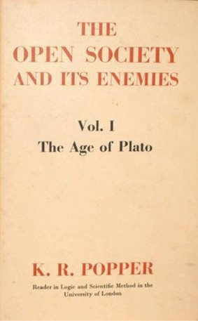 """<p>Karl Popper's <em>The Open Society and Its Enemies</em> is one of the more influential books of the 20th Century. Published in 1945 as a rallying cry for liberal democracies under siege, Popper writes at the beginning of his book that """"If our civilisation is to survive, we must break with the habit of deference to great men,"""" and also embrace that no single perspective represents the absolute truth. Popper's main purpose was to criticize the totalitarian political influences that had been rocking the world at the time (other books critical of totalitarianism also emerged around this period, like Ayn Rand's At-las Shrugged). Western democracies viewed Popper's work as a reaffirmation of the promose of liberalism—that societies (emulating science as a role model) should encourage rational reflection, and value individualism, equality, and reason, and in doing so will be superior to more closed forms of governance.</p>"""