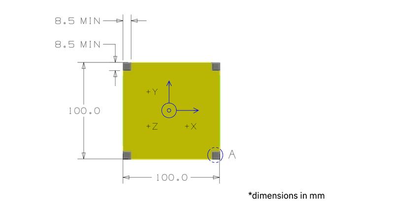 <p>Dimensions for PhoneSat build.</p>