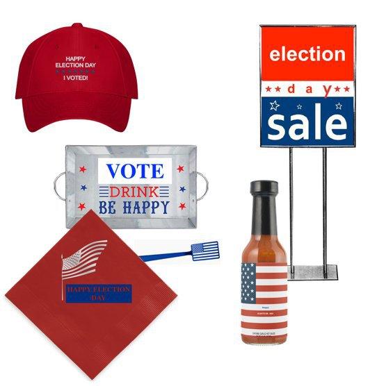 <p><em>Election Day merchandise.</em></p>