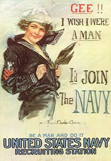 <p>Current 1917 Recruiting Poster. Source: Wikipedia</p>