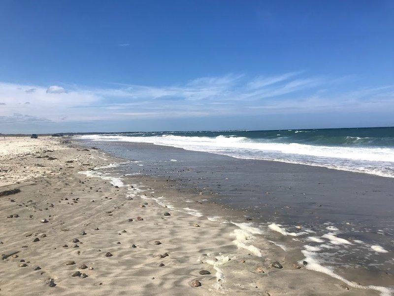 <p>The Massachusetts coast</p>