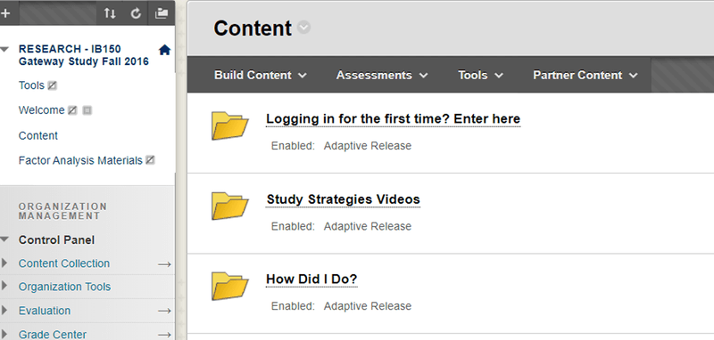 """<p id=""""tpid63fcze""""><strong>Figure 1. </strong>Screenshot of LMS From the Strategies Instruction + Self-Efficacy Enhancing Condition<br><em>Note.</em> Details removed to protect site identification.</p>"""