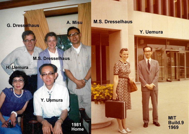 Graphite Research (1965-1980);Visit to Tokyo, with Prof. Y. Uemura