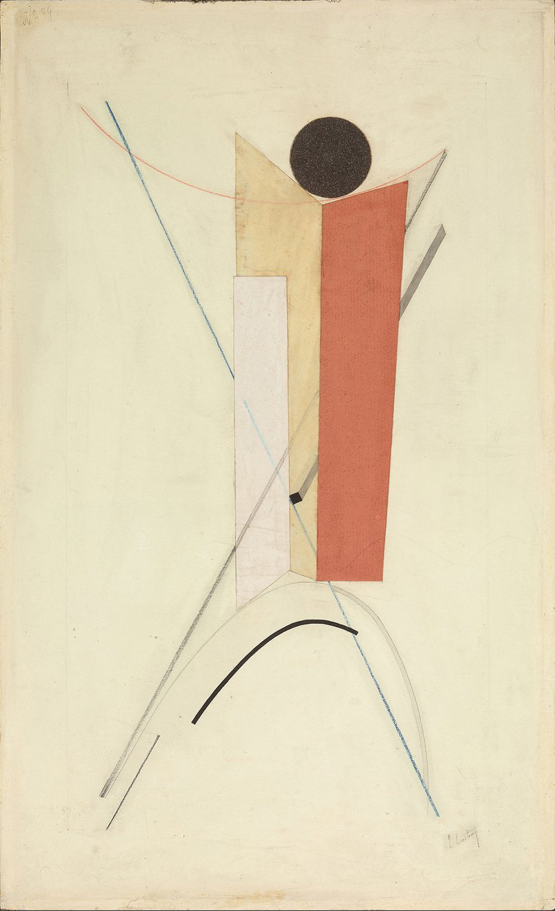 <p><strong>El Lissitzky</strong> 1890-1941</p><p>Untitled from <em>Proun</em> 1919-23</p><p>© 2019 Artists Rights Society (ARS), New York/VG Bild-Kunst, Bonn</p>