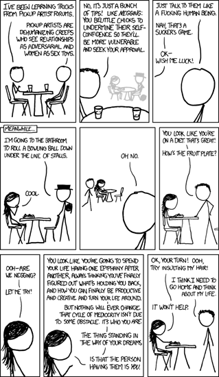 "<p>Figure 7.1 Randall Munroe, ""Pickup Artist,"" XKCD, 2012, <a href=""https://xkcd.com/1027/"">https://xkcd.com/1027/</a>.</p>"