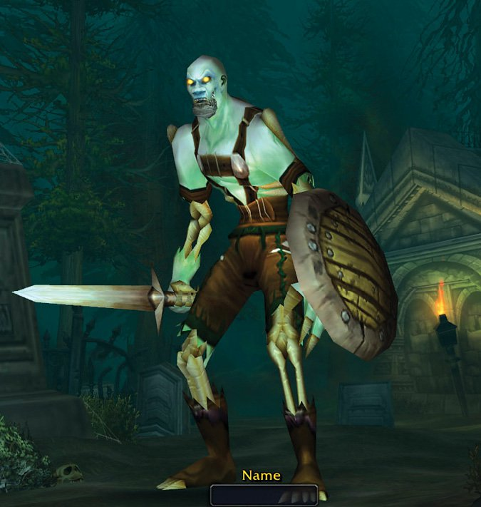 "<p>Figure 10.4</p><p>Avatar (""Undead"") from World of Warcraft, Blizzard Entertainment.</p>"