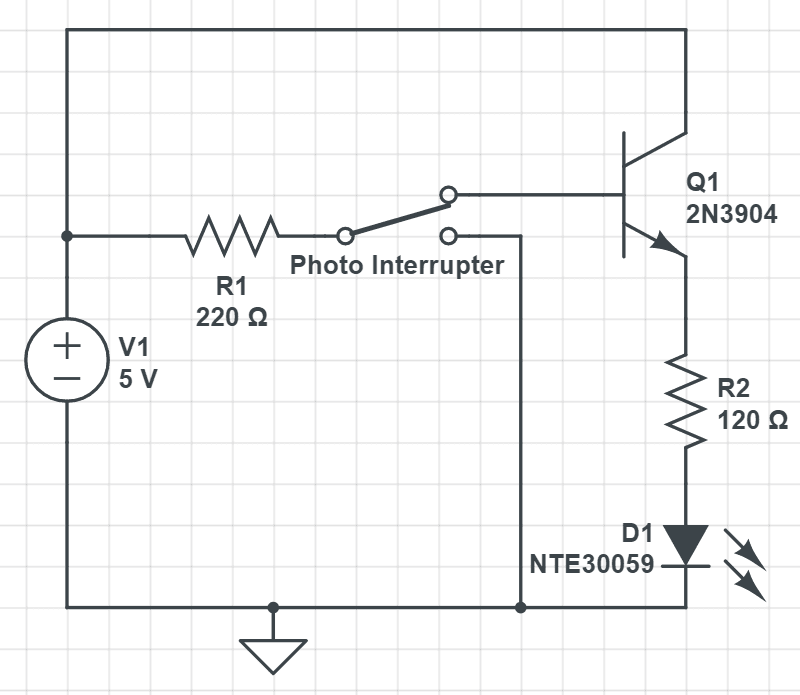 "<p class="""">Schematic of strobe light circuit</p>"