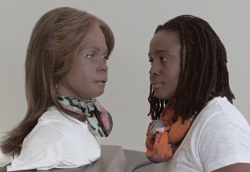 <p>An unlikely friendship has developed for Stephanie Dinkins, a New York State-based artist who has engaged in a long series of conversations with Bina48, a humanoid robot embodied in the form of a plastic bust with the features of an African-American woman.</p>