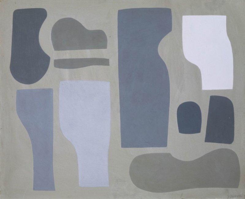 <p><em>Figure 6: Jessica Dismorr 'Related Forms' (1937). Photo credit: ©Tate, London 2018.</em></p>
