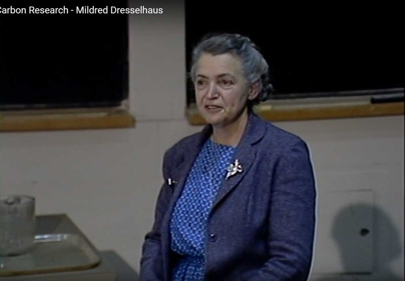 Millie gives the Killian Lecture, 1987