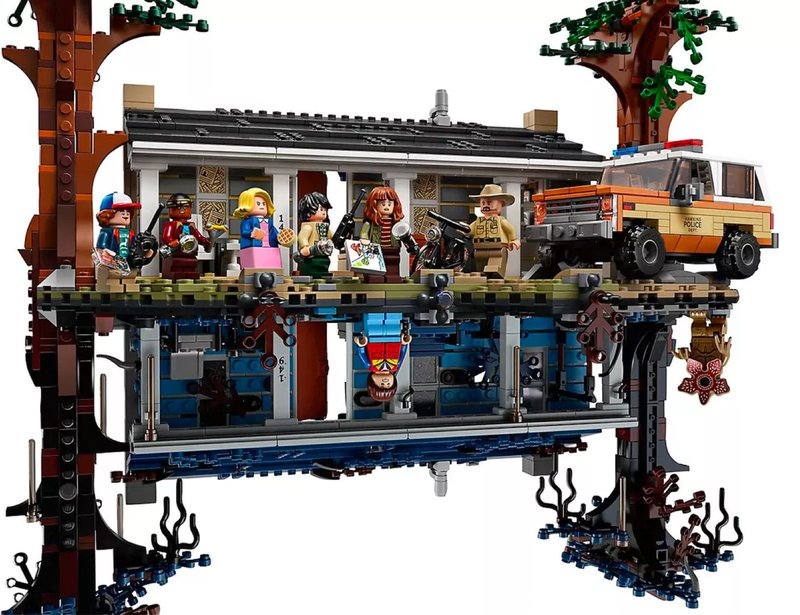 "<p>The Unreal: What does your reality look like? (LEGO's ""The Upside Down"" from the Netflix show ""Stranger Things."")</p>"