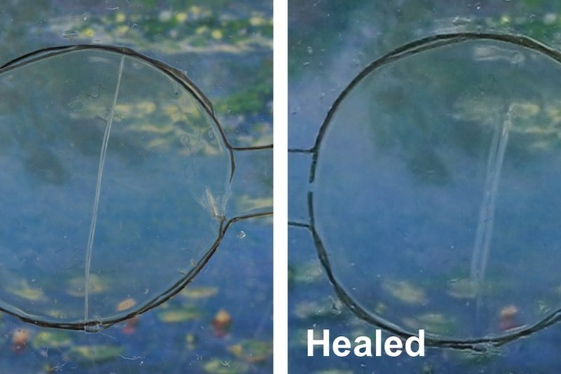 <p>Example of self-healing capabilities from a 2016 research. Source [3]</p>