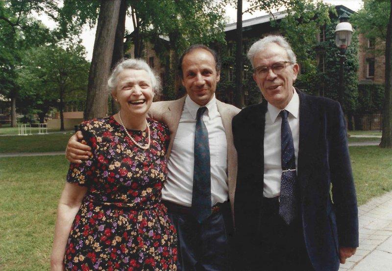 Millie, Gene, and I