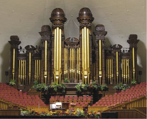 <p>Figure 2.1 The Salt Lake Tabernacle organ provides a metaphor here for the complex relations that pervade issues of ethics, science, and their mapped presentations. Wikipedia/Common Use.</p>
