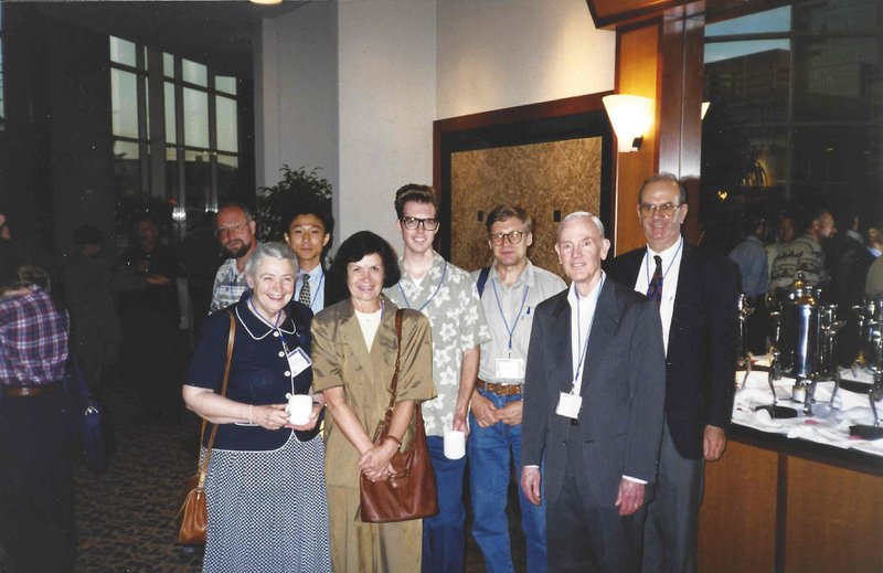 At a conference in Baltimore (1999)
