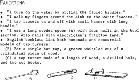 "<p><br></p><p>Figure 5.1 Gini Laurie, ""Homemaking Problems &amp; Solutions,"" 1968, <em>Toomey J Gazette</em>. Used with permission from Post-Polio Health International.</p>"