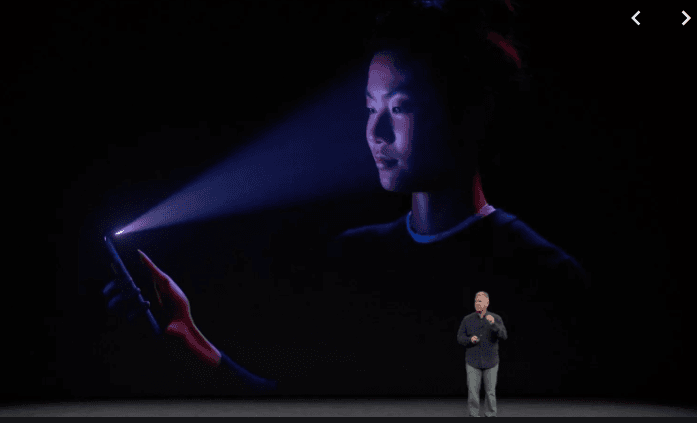 <p>Face ID as a feature on Apple: (Normal?)</p>