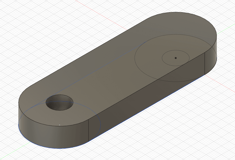 "<p class="""">CAD model of the hand crank handle connector</p>"