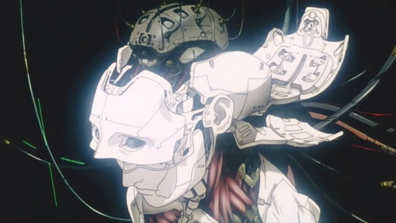 <p>Screenshot: Opening Sequence Ghost in the Shell 1995</p>